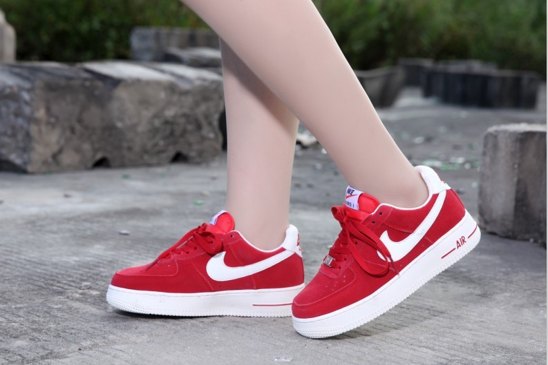 2018N nike air force 1 shoes basse femme suede voile pas