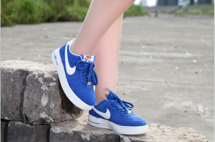 meilleures baskets 7a2dc 056ce 2018N nike air force 1 scarpe basse donna uomos suede voile ...