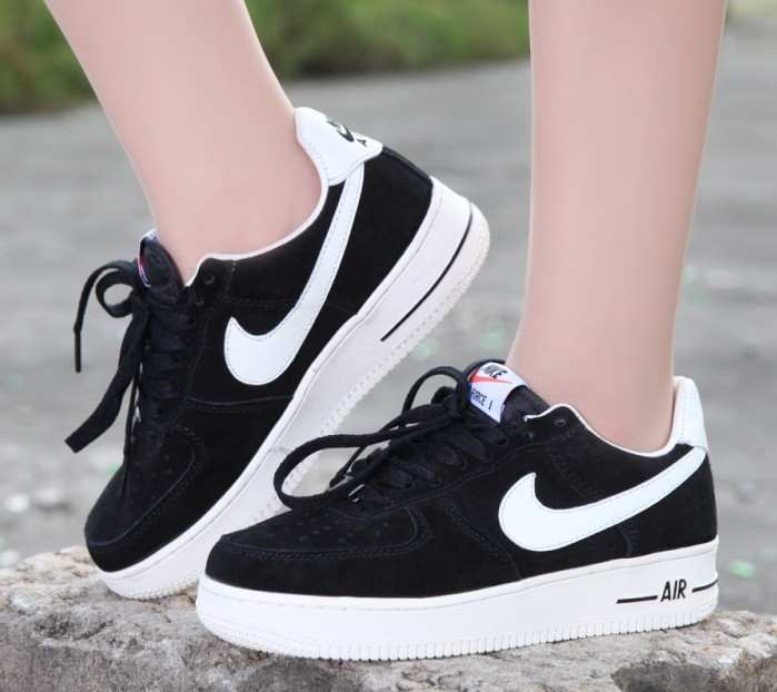meilleures baskets 9ce23 0fd7a 2018N nike air force 1 scarpe basse donna uomos suede voile ...