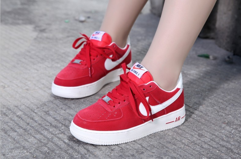 meilleures baskets 11e12 1c889 2018N nike air force 1 scarpe basse donna uomos suede voile ...