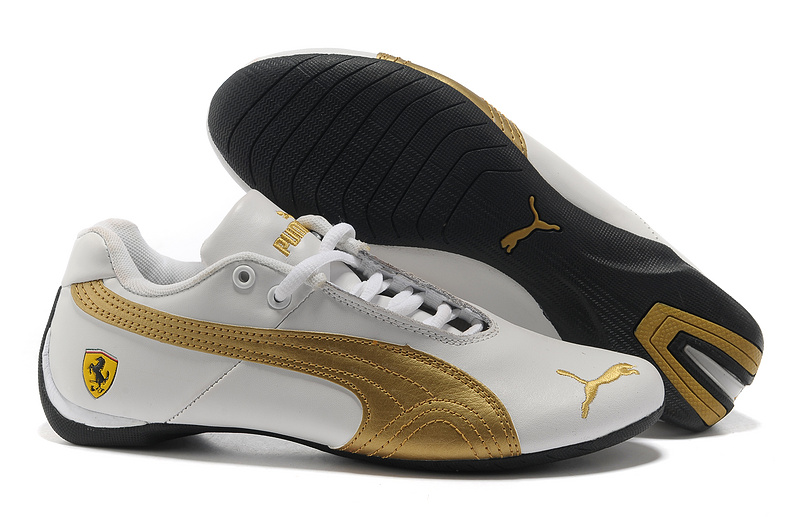 2018N scarpe puma donna repli cat populaire voiture sport 701 blanc or