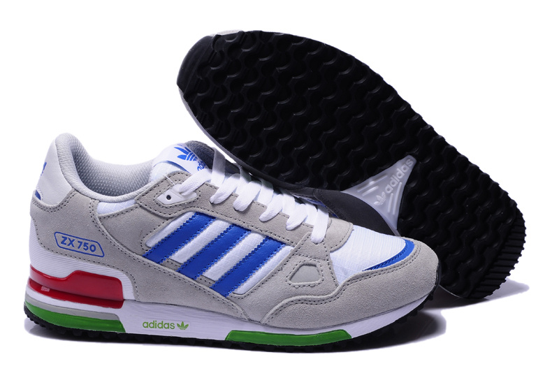 adidas zx 750 retro running jogging men shoes 2018N wto gray white