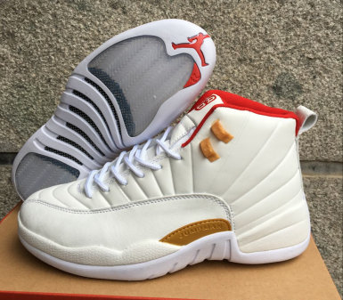 air jordan 12 all-star shoes ovo red gold