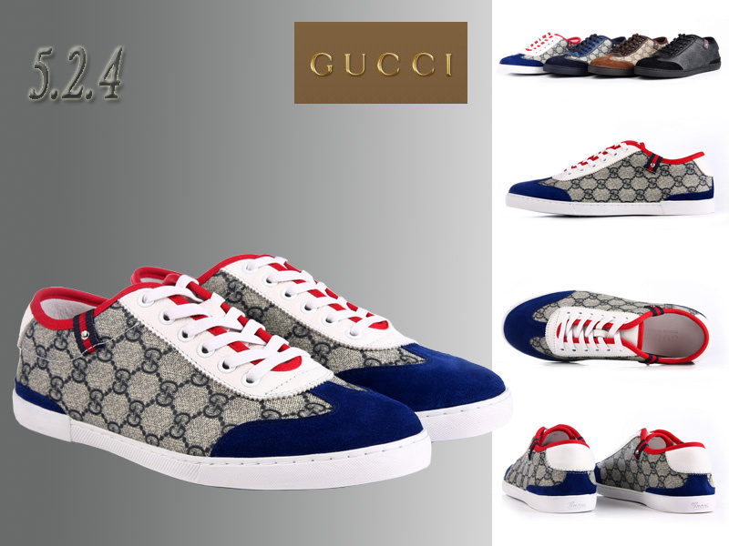scarpe gucci pour uomo lattice top blue von  GUCCI Shoes Uomo  - EUR 49 e7b2e5e14133