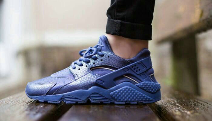 huarache nike running sports donna club force 1 blue