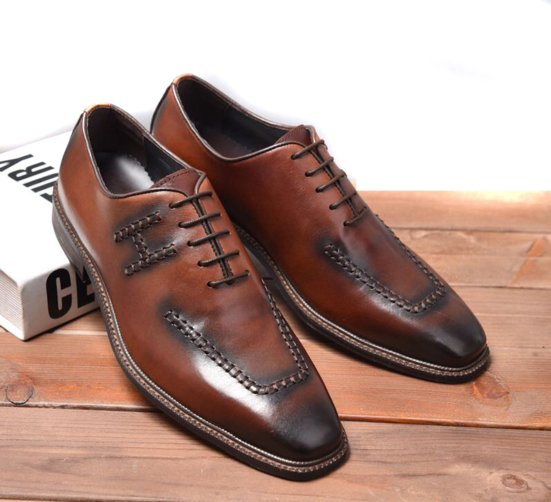 mocassins shoes hermes pas cher business affairs leather shoes brown