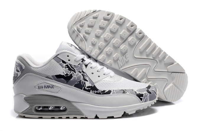 nike air max 90 shoes 2018N populaire femmes militaire gris