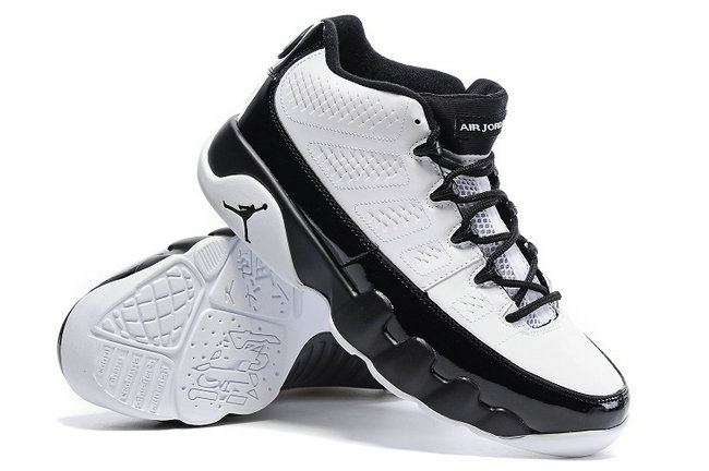 nike air jordan 9 retro 2016 white classic black