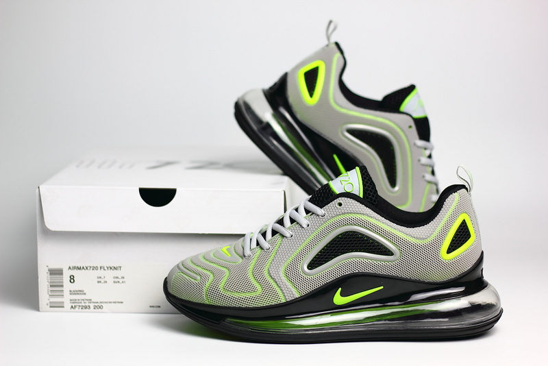 nike air max 720 sneaker classic nano light gray green