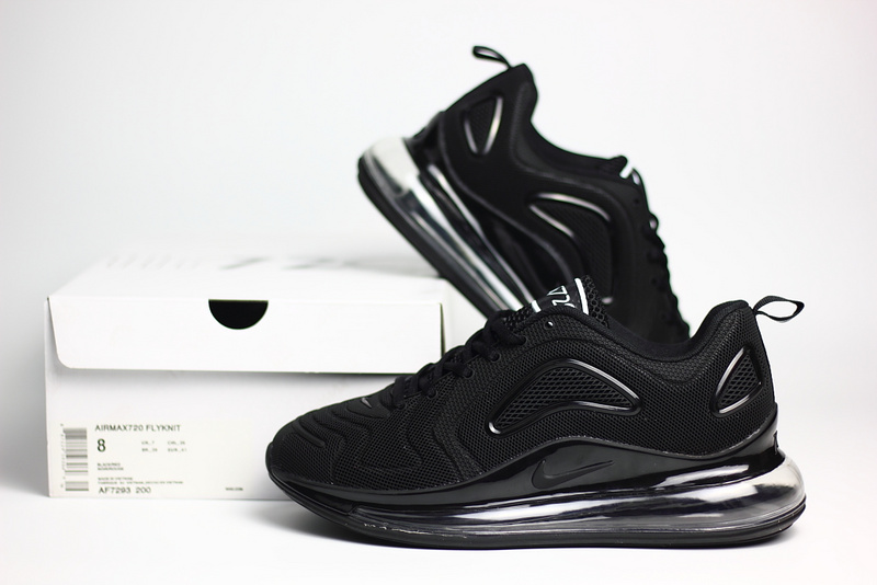 nike air max 720 sneaker classic nano all black