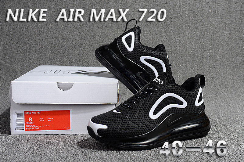 nike air max 720 sneaker classic cool black