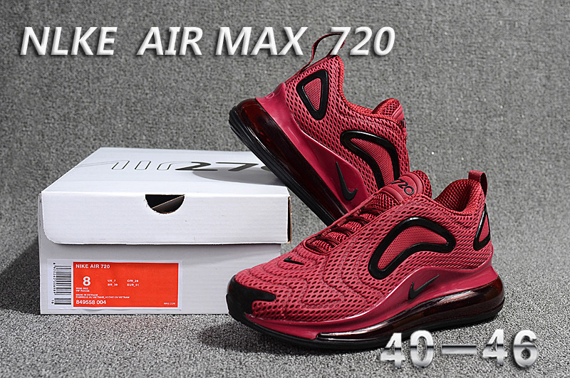 nike air max 720 sneaker classic red win