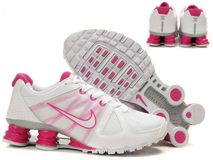 nike shox agent+ discount scarpe uomo mm fly wire blanc rose