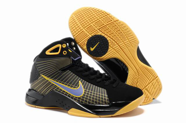 nike zoom kobe hiver automne femmes mouvement 2018N black yellow
