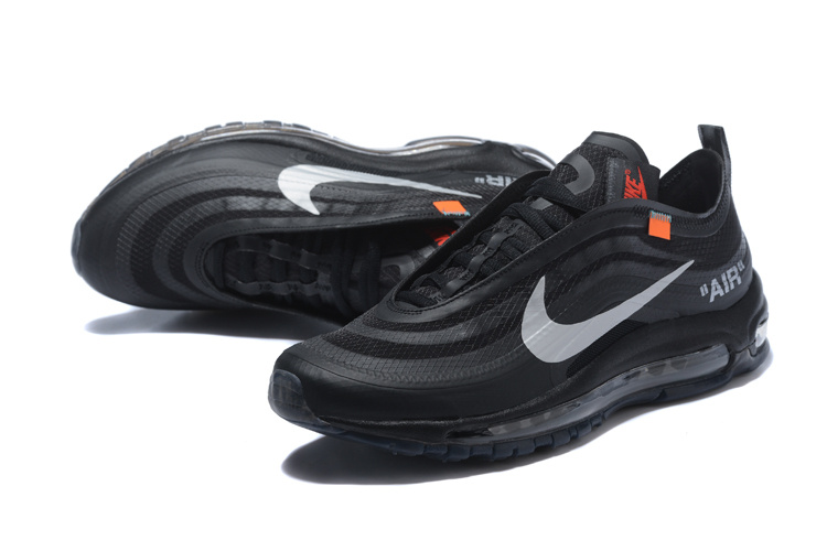 off-white et nike air max 97 uomo limite black