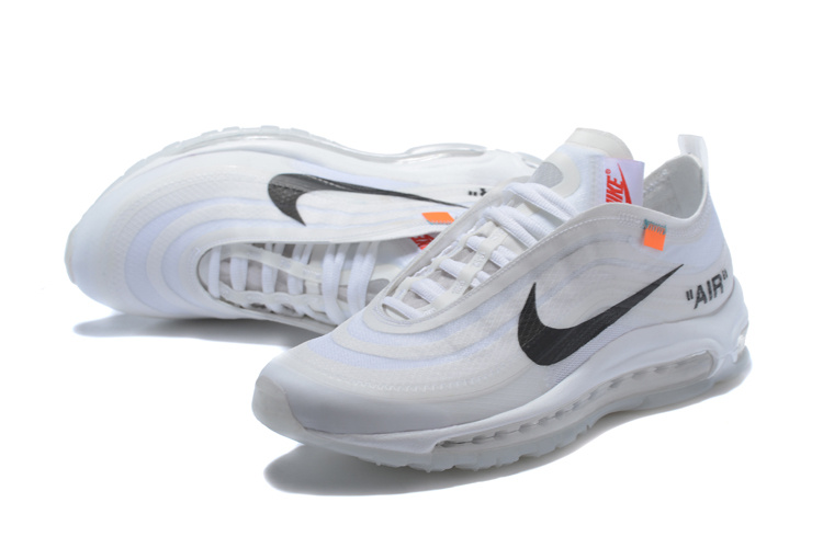 off-white et nike air max 97 uomo limite white