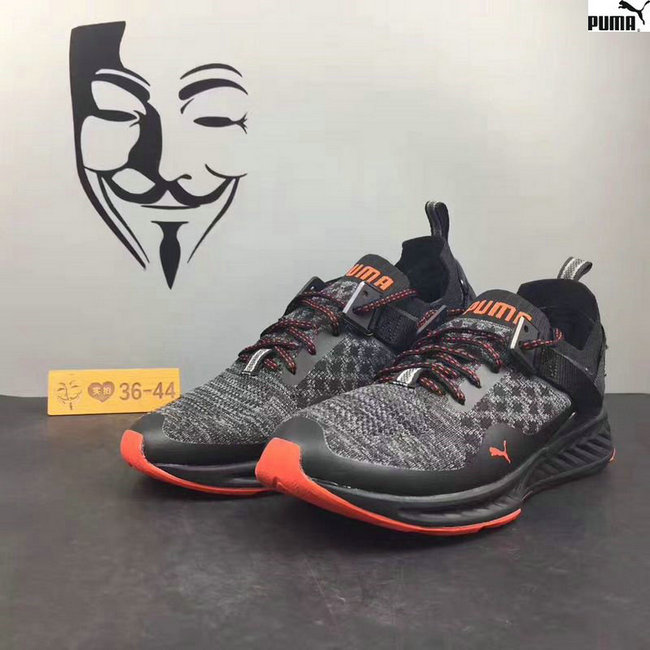puma scarpe ignite proknit m orange black