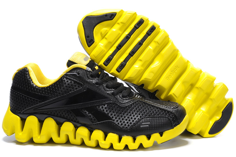 reebok uomo shoes nouveau black 2018N yellow sport shoes