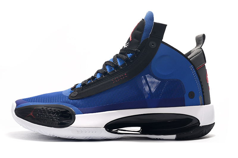air jordan 34 prix discount on sale blue red