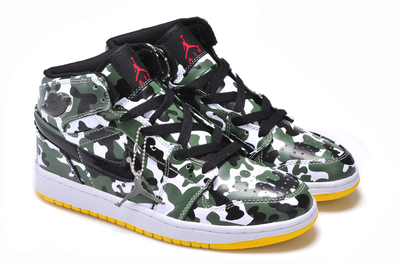 air jordan hommes 2018N chaussures camouflage mode pas cher vert blanc