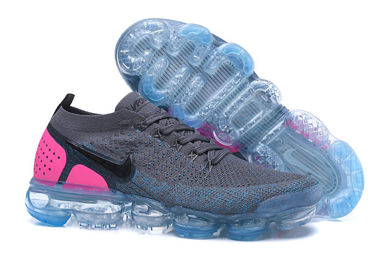 air vapormax pour donna pink back gray