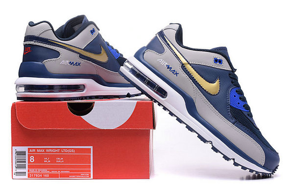 uomo nike air max wright ltd 3 running sneakers or mark