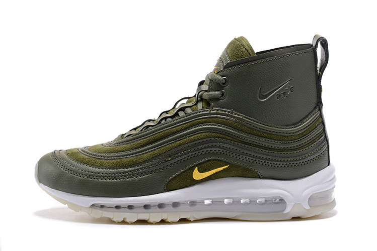 mid nike air max 97 rio two star green