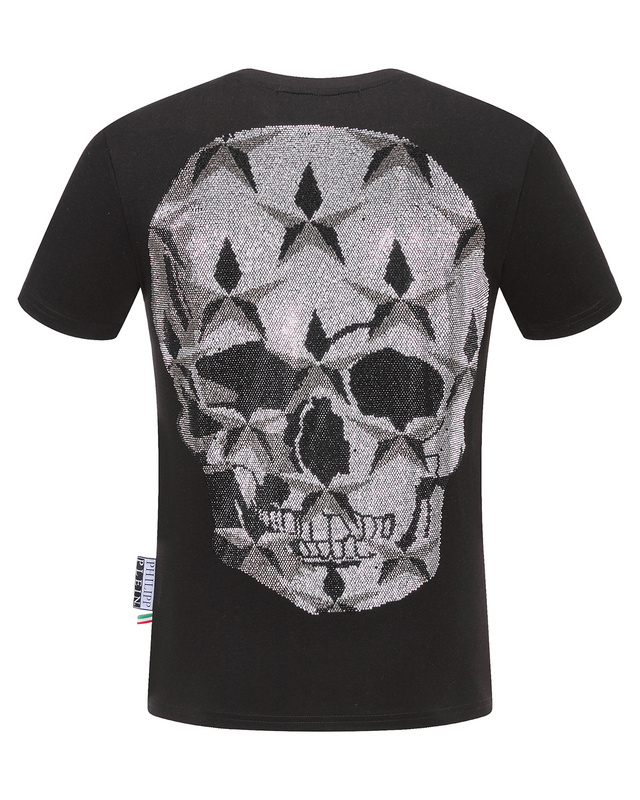 new collection uomo philipp plein t shirts big star skull