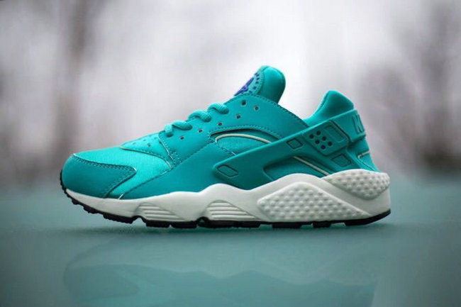 new donna nike air huarache sports scarpe mint green
