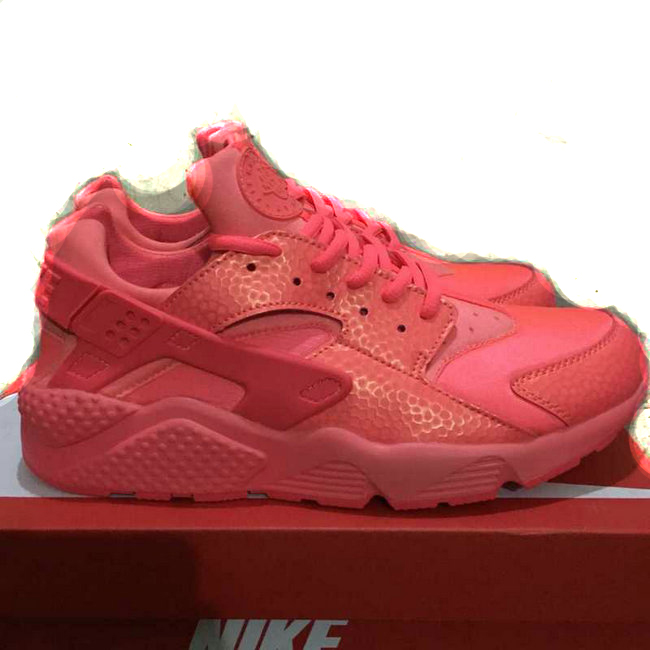 new donna nike air huarache sports scarpe sao rouge