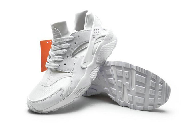 new donna nike air huarache sports scarpe chevalier blanc