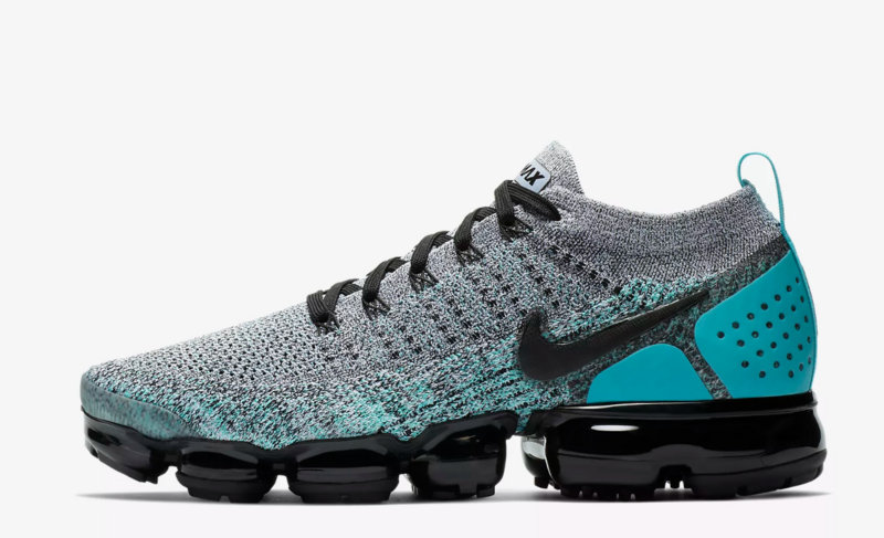 pretty nice 85108 970c2 nike air vapormax run utility flyknit 2 gray light