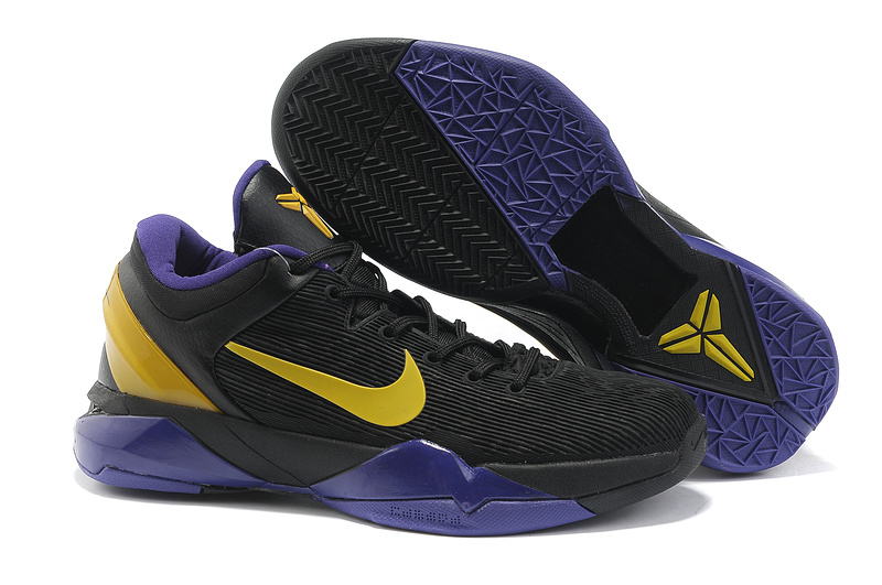 cheap nike zoom kobe vii star collection yellow purple