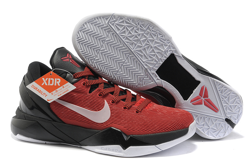cheap nike zoom kobe vii star red collection white