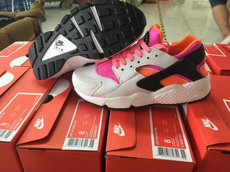 nouveau cuir air huarache donna nm blanche top,mode air huarache enfant PREZZO BASSOe