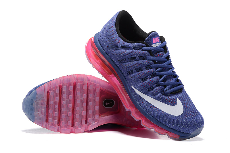 running nike air max 2016 pour donna scarpe blue rose von
