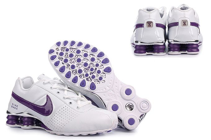 shoes buon mercato nike shox oz donna blance violet,shox oz france