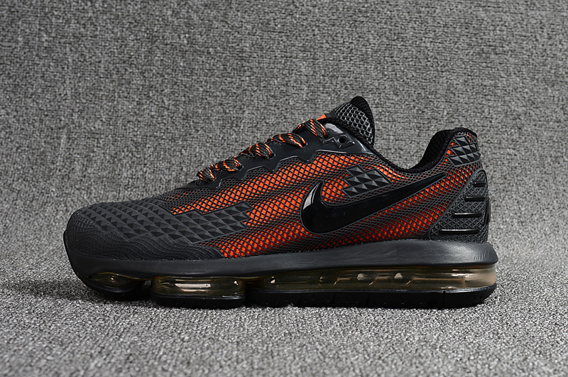 Uomo Qdtshr Pour Vonnike Charcoal Max Scarpe Orange Nike Flair Air vPN0w8ymnO