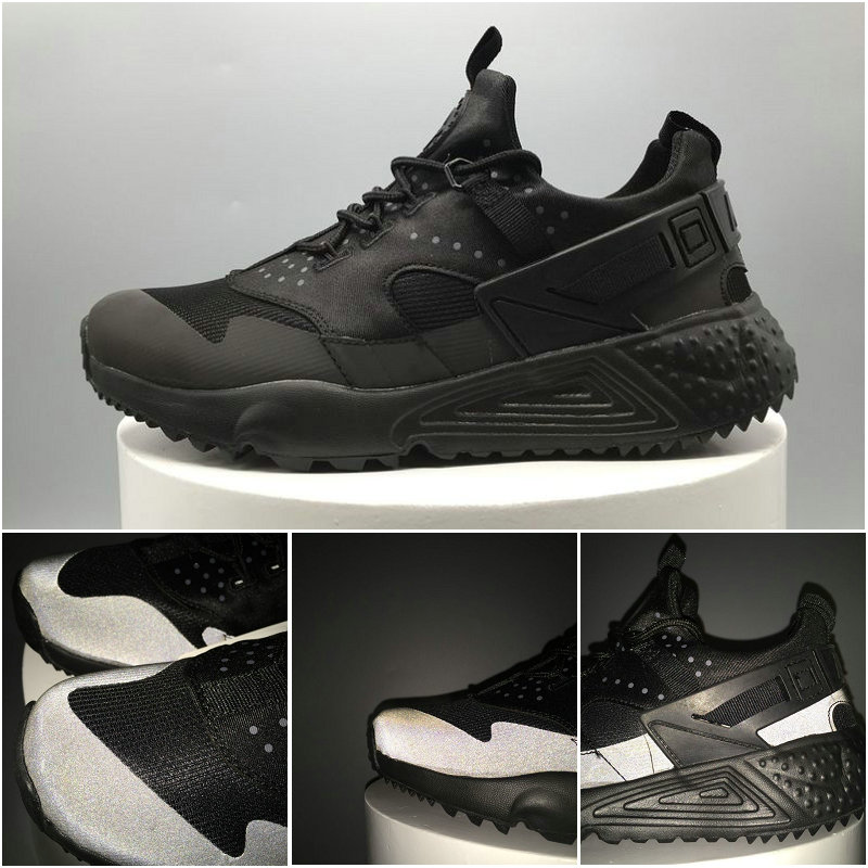 scarpe nike air huarache run donna cool noir