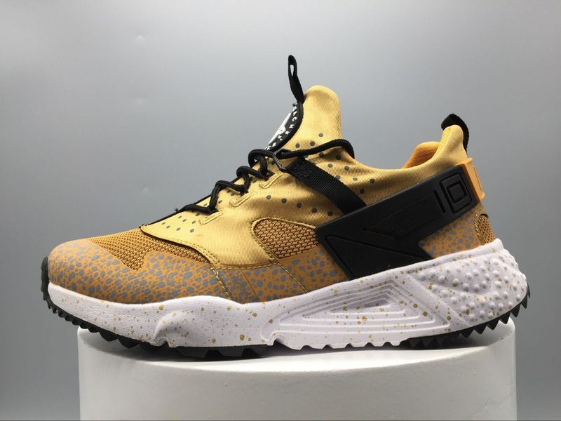 scarpe nike air huarache run donna gold leopard