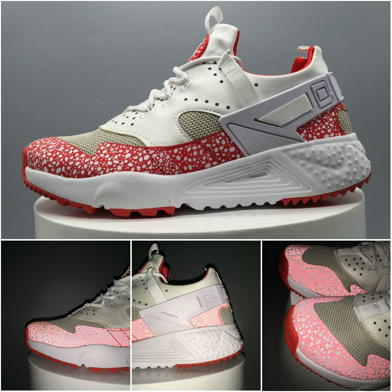 scarpe nike air huarache run donna white red