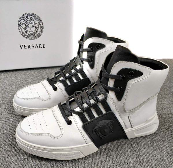versace chaussure homme pas cher imported calfleather white von ... bffec06997e