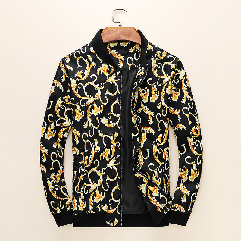 versace veste homme ouedkniss classic flower