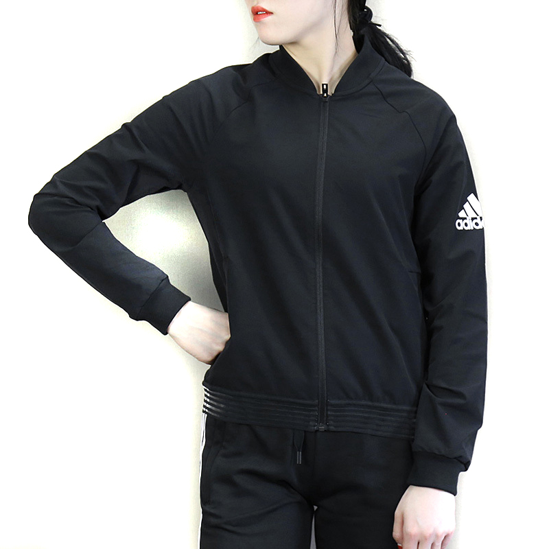 Adidas Polyester Von Black Pas Giacca adidas Femme Cher 77 dSxqWz6p