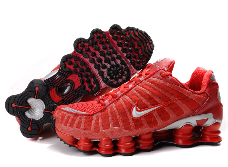 donna buon mercato nike shox tl-1 shoes rose running shoes